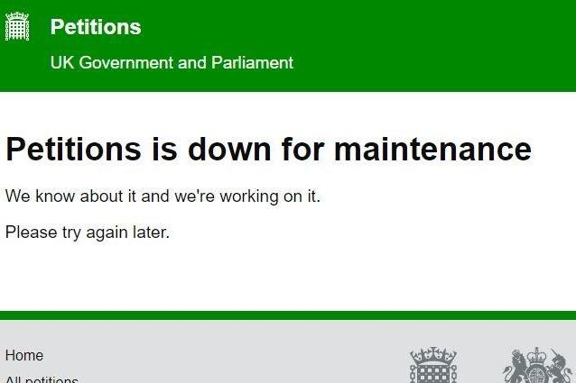 Revoke Article 50 petition: Conspiracy theories abound after 'cancel Brexit' campaign website crashes