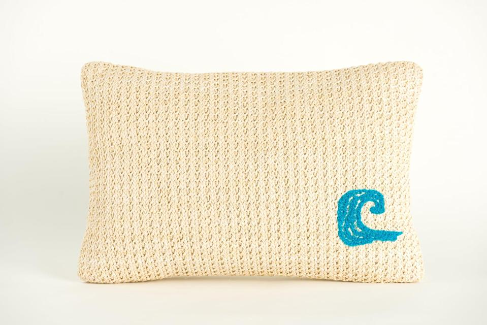 <p>Flip over the <span>Disney Princess X POPSUGAR Moana The Ocean Chose Me Decor Pillow</span> ($20) for a more subtle style with a tiny embroidered wave.</p>