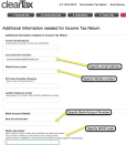 11. Bank Details for getting your Income Tax Refund: You need to specify your Bank Account number to the Income Tax Department. For this you need your Bank Account Number and your MICR code.