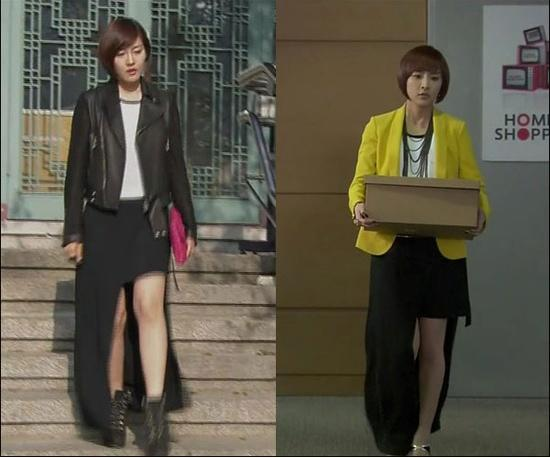 Jung Yumi and Sung Yuri wear same outfit in their dramas