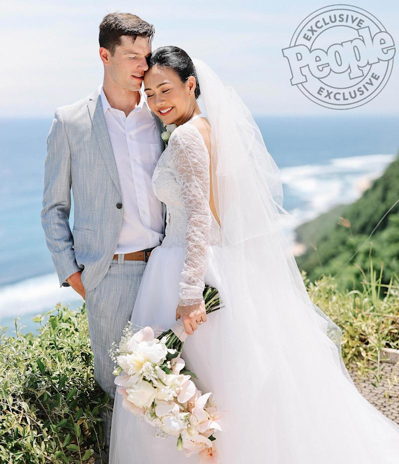 Maddie Rice Wedding.Olympic Swimmer Josh Prenot Marries Tiffany Sudarma In Dream Bali