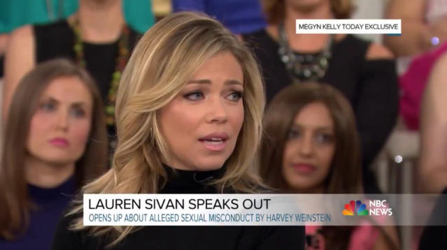 """The TV reporter who says Harvey Weinstein cornered her and masturbated in front of her in an empty restaurant has spoken out on the """"Today"""" show."""