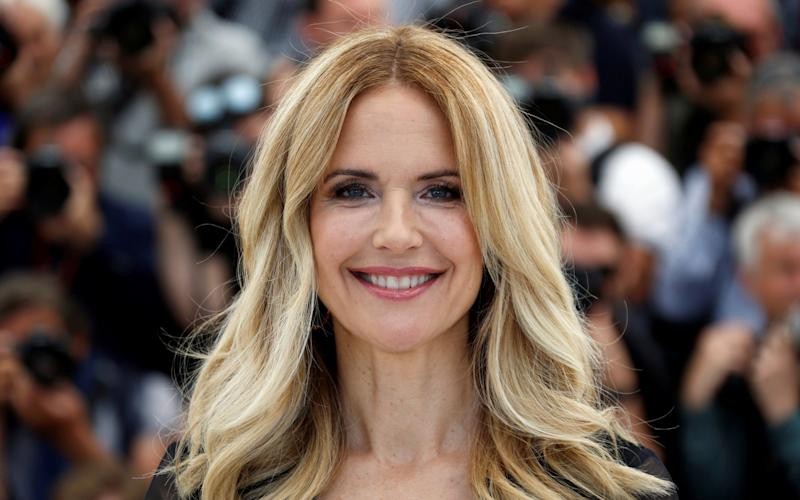 The late Kelly Preston, pictured at the Cannes Film Festival in 2018 - Reuters