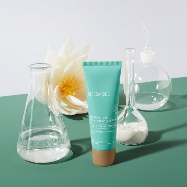<p>Sephora customers are big fans of this <span>Biossance Squalane + Zinc Sheer Mineral Sunscreen SPF 30 PA +++</span> ($30), and we think you will be too.</p>