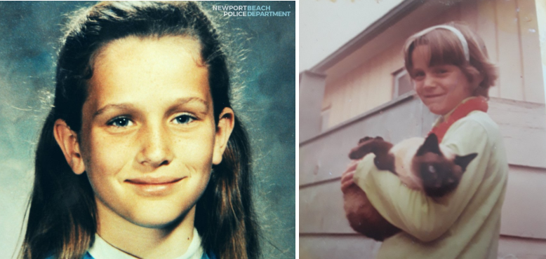 Linda O'Keefe was walking home from summer school in 1973 when authorities say she was abducted and strangled. (Newport Beach Police)