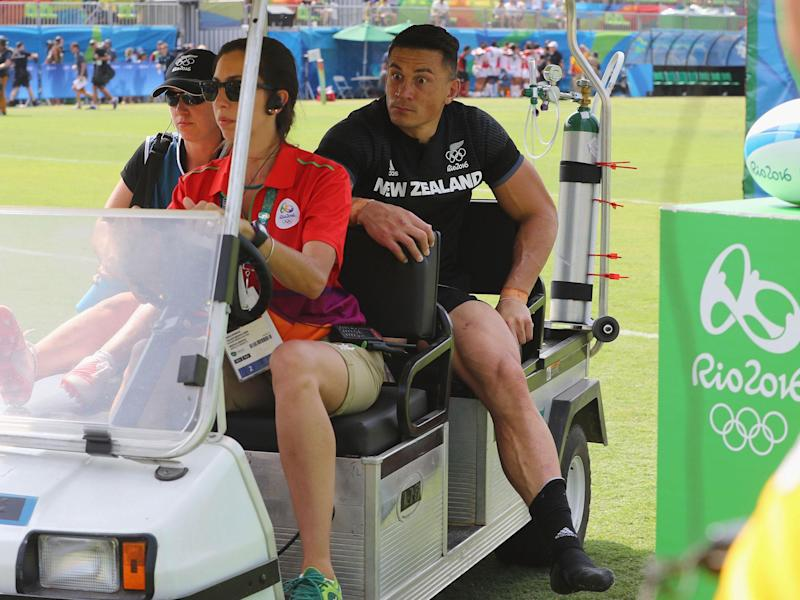 Sonny Bill Williams will return from the torn Achilles tendon he suffered last August: Getty