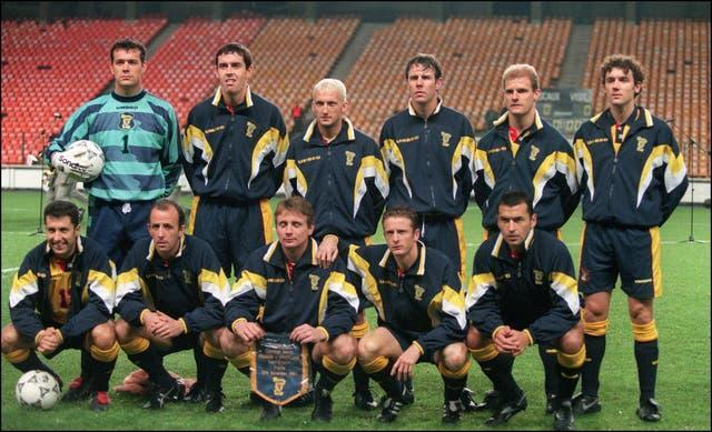 Scotland team at the 1998 World Cup