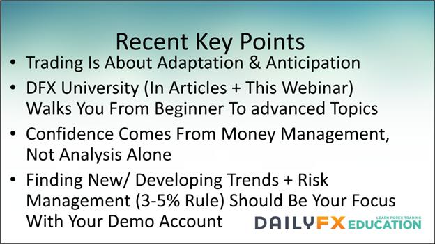 Where New FX Traders Should Focus When New to Trading [Webinar]