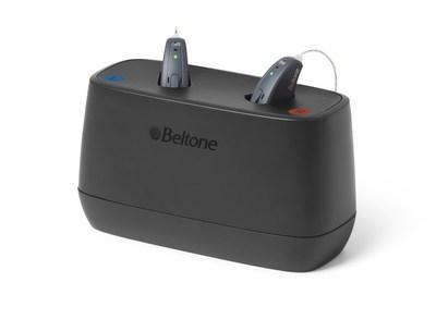 Beltone Rely is packed with some of the latest technology, including leading rechargeable options that deliver 30 hours of power on one charge.