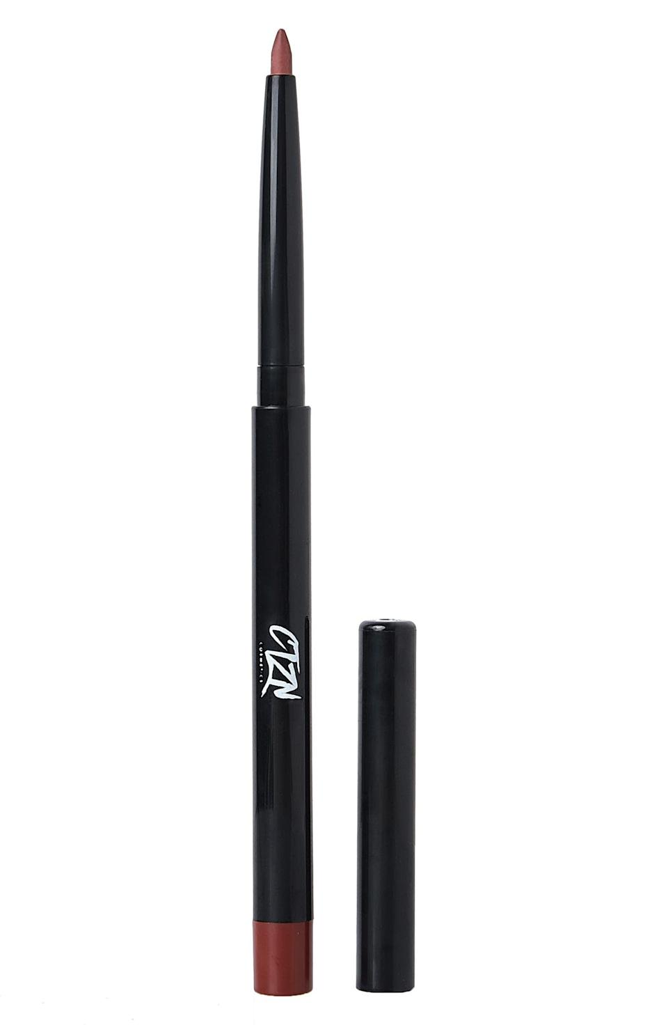 <p>For a more intense and glam look, pair the <span>Ctzn Cosmetics Nudiversal Lip Duo</span> ($25) with the retractable <span>CTZN Cosmetics Lipstroke Waterproof Lip Liner</span> ($16). It's creamy, soft, and nondrying with a bold, high-intensity color payoff. It has a sharpener attached so you can get a precise line every time.</p>