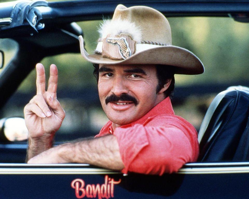 <p><strong>Burt Reynolds </strong></p><p>How did mustaches get their bow-chica-bow-bow connotation? You can thank the Sex Symbol, which is loose, free, and ready to get down. It's groomed but not too groomed, long but not shaggy, and has enough volume to tickle the lips without completely obscuring them. The edges dip around the corners of your mouth slightly, but without getting into Horseshoe territory, which gives it a casual lothario look.</p>