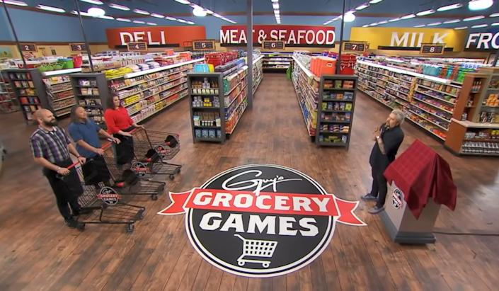 """On """"Guy's Grocery Games,"""" contestants are challenged with all sorts of ingredients. <p class=""""copyright"""">Food Network</p>"""