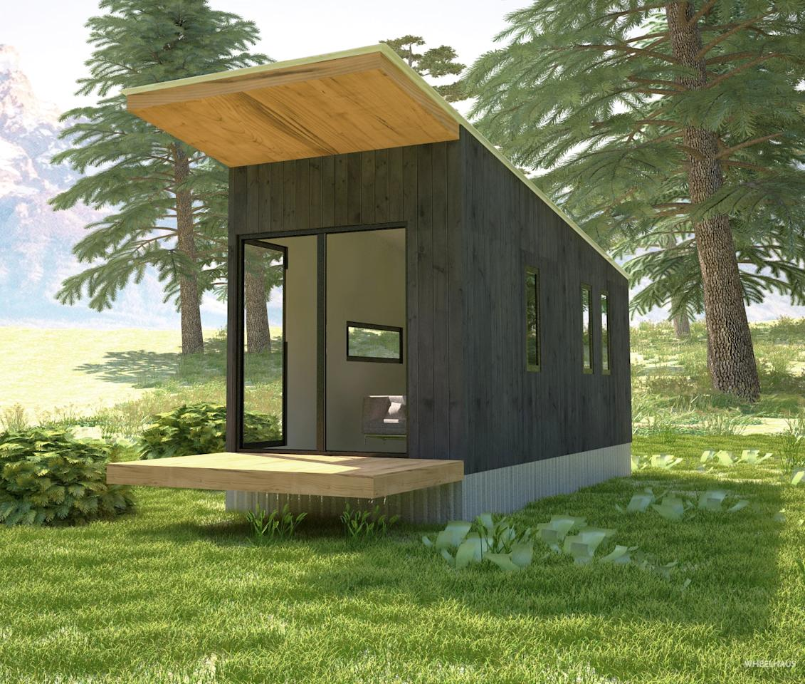 10 tiny houses you can rent or even buy. Black Bedroom Furniture Sets. Home Design Ideas
