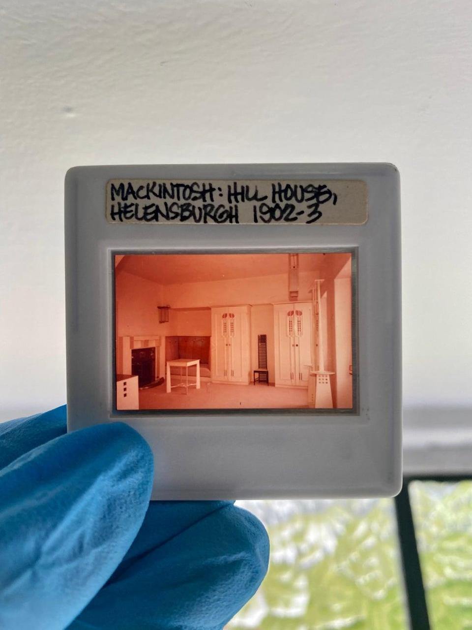 The white bedroom in the Hill House has not changed much over the years (Taylah Egbers/NTS/PA)