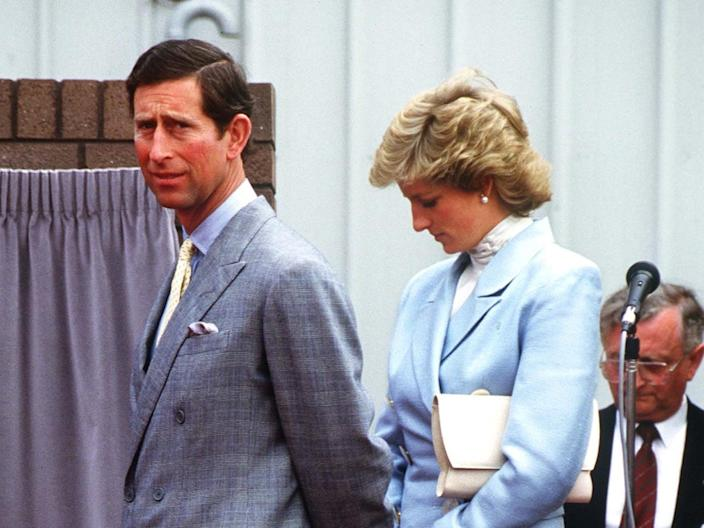 Prince Charles and Princess Diana - May 1988
