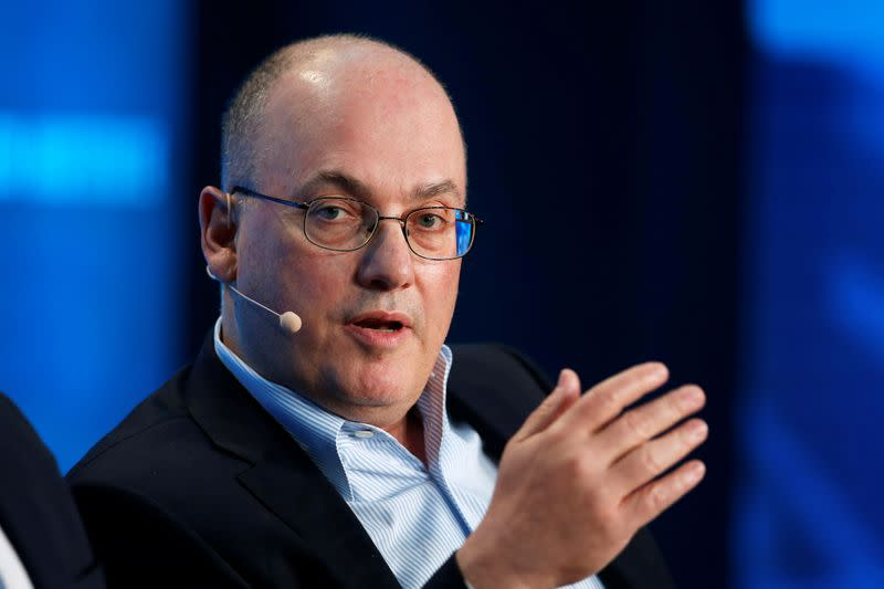 Steven Cohen, Chairman and CEO of Point72 Asset Management, speaks at the Milken Institute Global Conference in Beverly Hills