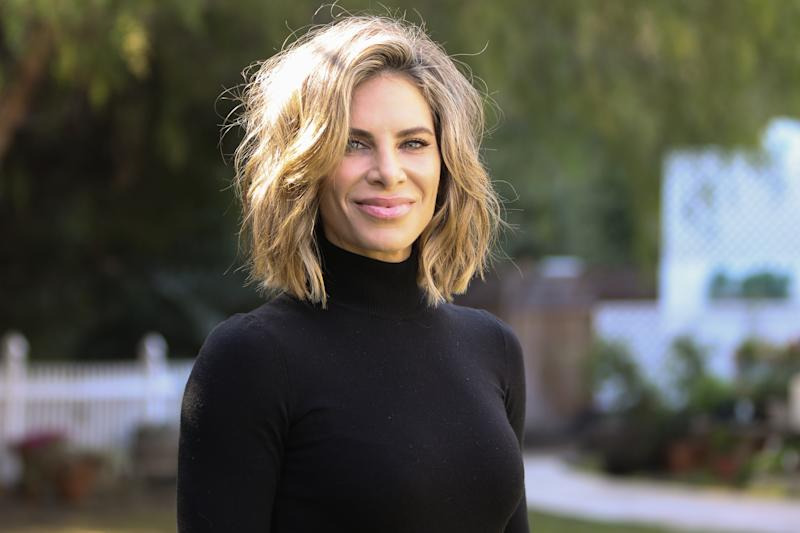 "UNIVERSAL CITY, CALIFORNIA - JANUARY 15: TV Personality / Celebrity Trainer Jillian Michaels visits Hallmark Channel's ""Home & Family"" at Universal Studios Hollywood on January 15, 2020 in Universal City, California. (Photo by Paul Archuleta/Getty Images)"