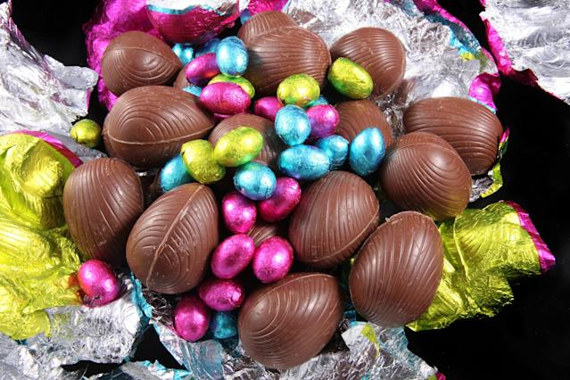 Chocolate was not always the gift given at Easter. Source: Getty/file