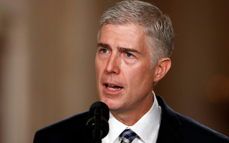 Neil Gorsuch - Copyright 2017 The Associated Press. All rights reserved.
