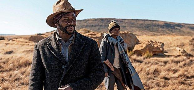 Vuyo Dabula in a scene from the movie Five Finger