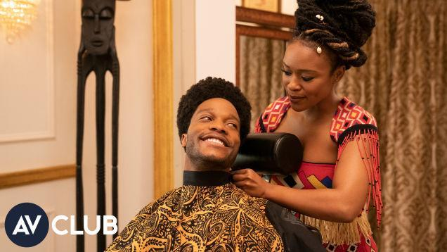 Jermaine Fowler And Nomzamo Mbatha Say Coming 2 America Is A Black Fairy Tale