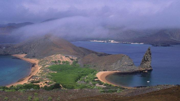 The Galapagos Islands are a Unesco World Heritage site