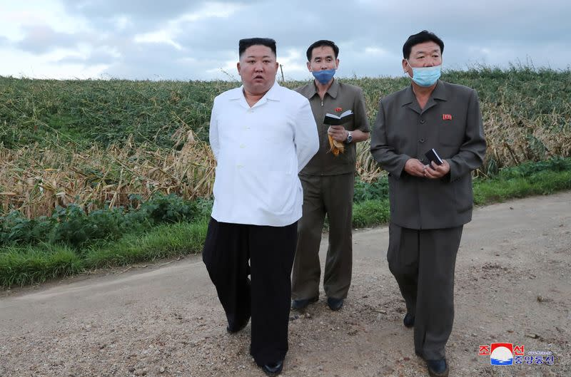 North Korea's Kim says Typhoon Bavi caused little damage - KCNA