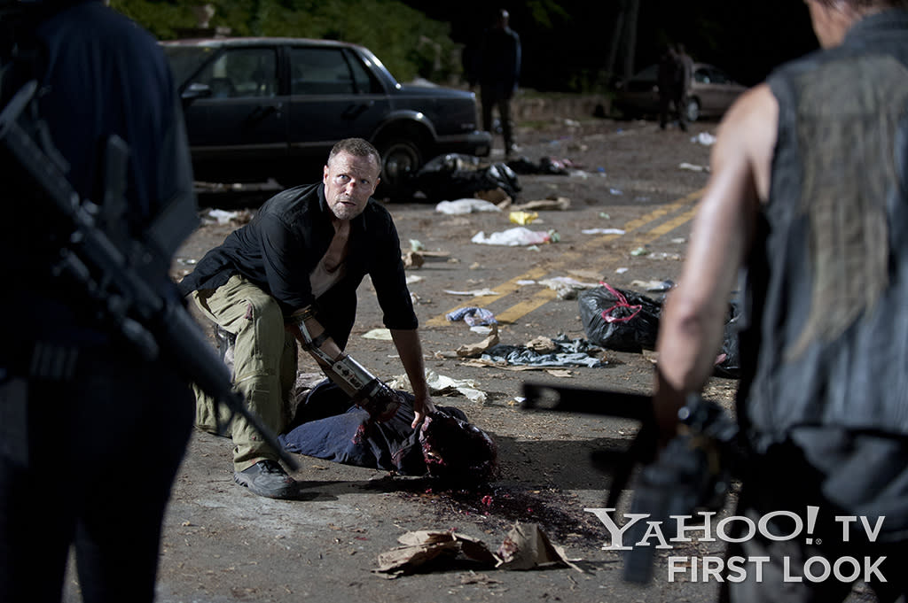 "Merle Dixon (Michael Rooker) in ""The Walking Dead"" Season 3 episode ""The Suicide King."""