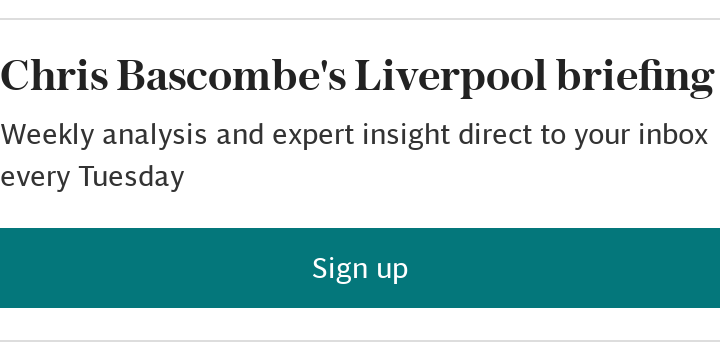 Chris Bascombe's Liverpool briefing