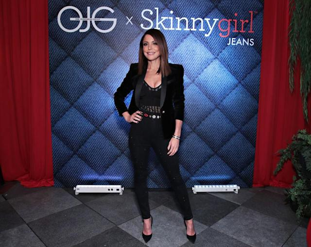 Frankel at the launch for Skinnygirl Jeans. (Photo: Getty Images)