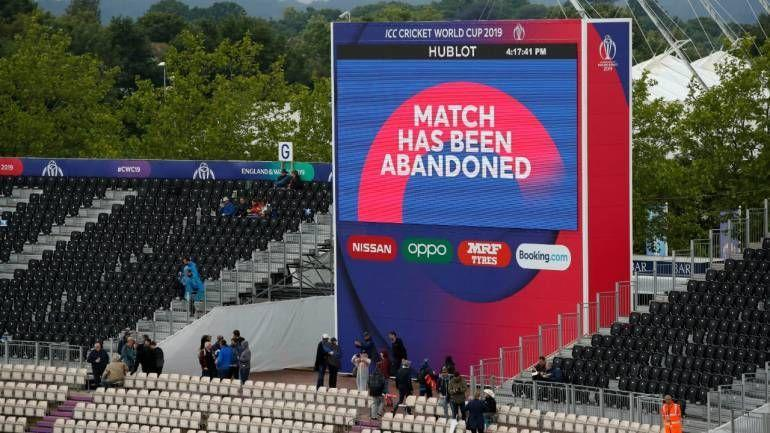 Image result for match abandoned due to rain champions trophy