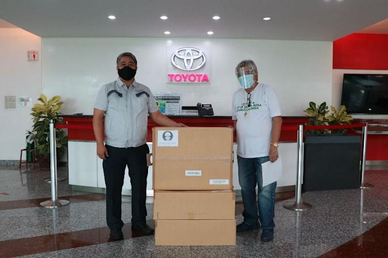 Toyota Facemasks