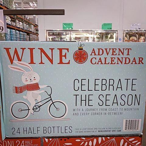 "<p>This <a href=""https://www.delish.com/food-news/a34043994/costco-wine-advent-calendar/"" rel=""nofollow noopener"" target=""_blank"" data-ylk=""slk:wine advent calendar"" class=""link rapid-noclick-resp"">wine advent calendar</a>, which can be found at some Costco locations, features 24 half-bottles of wine. If my math is correct, that's about 12 whole bottles...which is really a Christmas miracle. The wines are from places all over the world like France, New Zealand, Portugal, Spain, and Italy. The whole thing costs $99.99 which seems like an absolute steal.</p><p><a href=""https://www.instagram.com/p/CFLGUY2hXYG/"" rel=""nofollow noopener"" target=""_blank"" data-ylk=""slk:See the original post on Instagram"" class=""link rapid-noclick-resp"">See the original post on Instagram</a></p>"