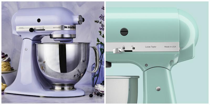 KitchenAid Stand-mixer in Lavender, released for Christmas with complimentary personalisation - $949.00