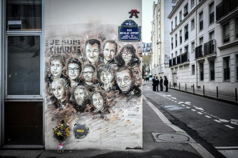 The street where Charlie Hebdo journalists and cartoonists were gunned down at their offices in 2015 was the scene of a new knife attack this week