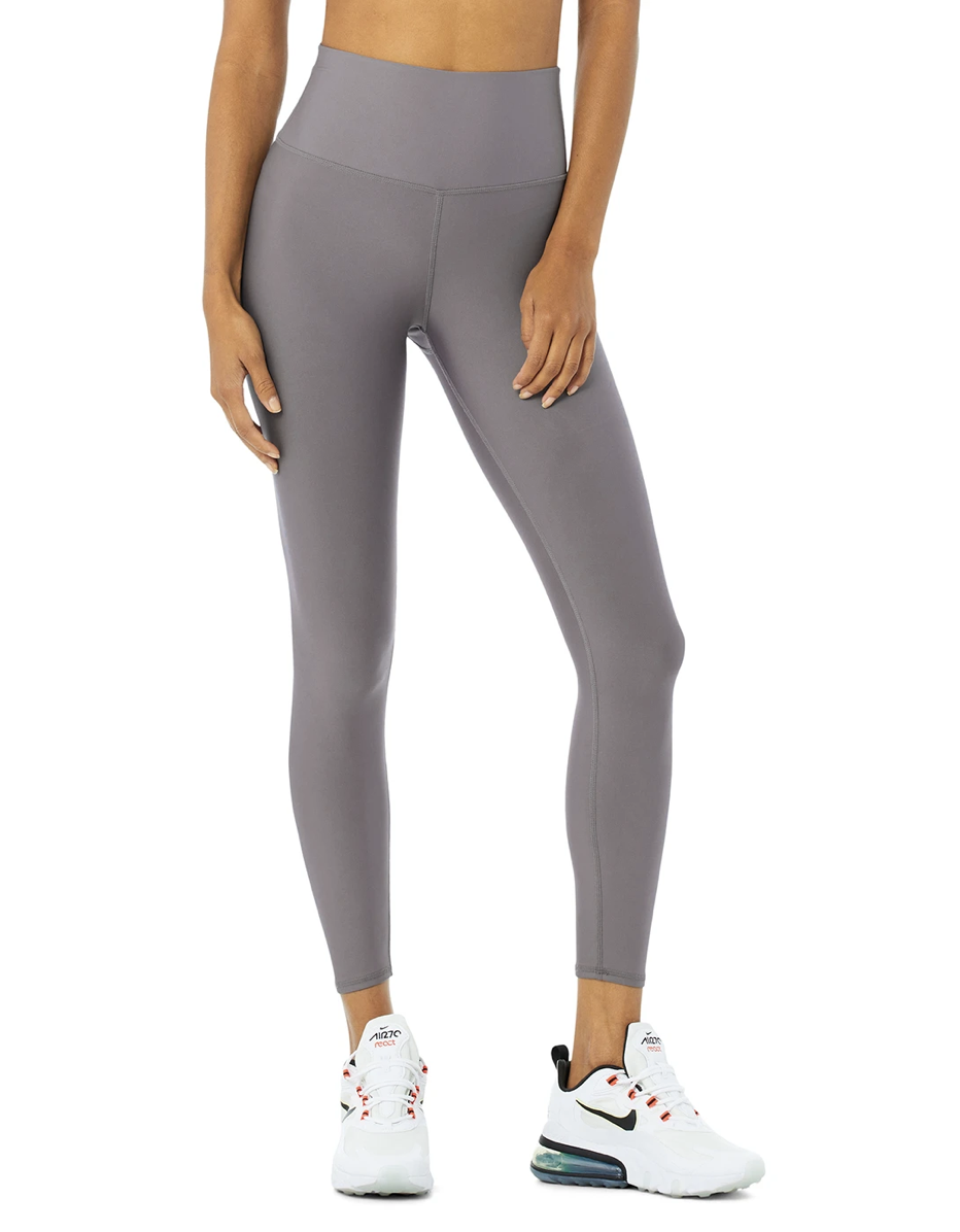 "<p><strong>Key selling points:</strong> If you want a high-rise legging that looks and fees like second skin, get yourself a pair of Airlift leggings. The fabric is opaque and seriously smooth to the touch, and <a href=""https://cna.st/affiliate-link/3XBo9W39HEFDC9htNPHPFbphPYVmvwcAPrwPJRw7NimWqaBZaKpkiybdGJ9TBSS4QVK7emXEa7NukCYSoeELnBYaXEeiaWgdpgmqvbRUuG5KCNq?cid=6034126f26a087670937ea18"" rel=""nofollow noopener"" target=""_blank"" data-ylk=""slk:Harris"" class=""link rapid-noclick-resp"">Harris</a> says it's a great option for sweaty workouts like running, Spin, or HIIT because of how lightweight and sweat-wicking the material is. The 7/8 crop is also ideal for petites who don't want a full-length style that'll bunch up at the ankles.</p> <p><strong>What customers say:</strong> ""Airlift leggings are my favorite from Alo. They have a beautiful slight sheen to them, are soft to the touch, and have a lot of stretch. They hug in all of the right places and the waistband is the best. I would love a version with the same waistband, but with no center crotch seam. I wear a size 4 in pants—I originally purchased a small, but actually prefer the XS for a little more compression. Fits like a glove."" —<a href=""https://cna.st/affiliate-link/AqefbiEiYxrmm76PeWcEBBjoUbji4tBf3N25pHA18m6ZCbgSpSFCBRA6Kcukde8X7U3ZXUsTL79ip9xTRrWSGyT5ZbEma19HHCGF2jyiiEzAwu2HYquGfjE2pqSDw5aibsECE39GLDW4YLDhGi5ttaJPg?cid=6034126f26a087670937ea18"" rel=""nofollow noopener"" target=""_blank"" data-ylk=""slk:Rachel N."" class=""link rapid-noclick-resp""><em>Rachel N.</em></a></p> $114, Alo Yoga. <a href=""https://www.aloyoga.com/products/w5766r-7-8-high-waist-airlift-legging-purple-dusk"" rel=""nofollow noopener"" target=""_blank"" data-ylk=""slk:Get it now!"" class=""link rapid-noclick-resp"">Get it now!</a>"