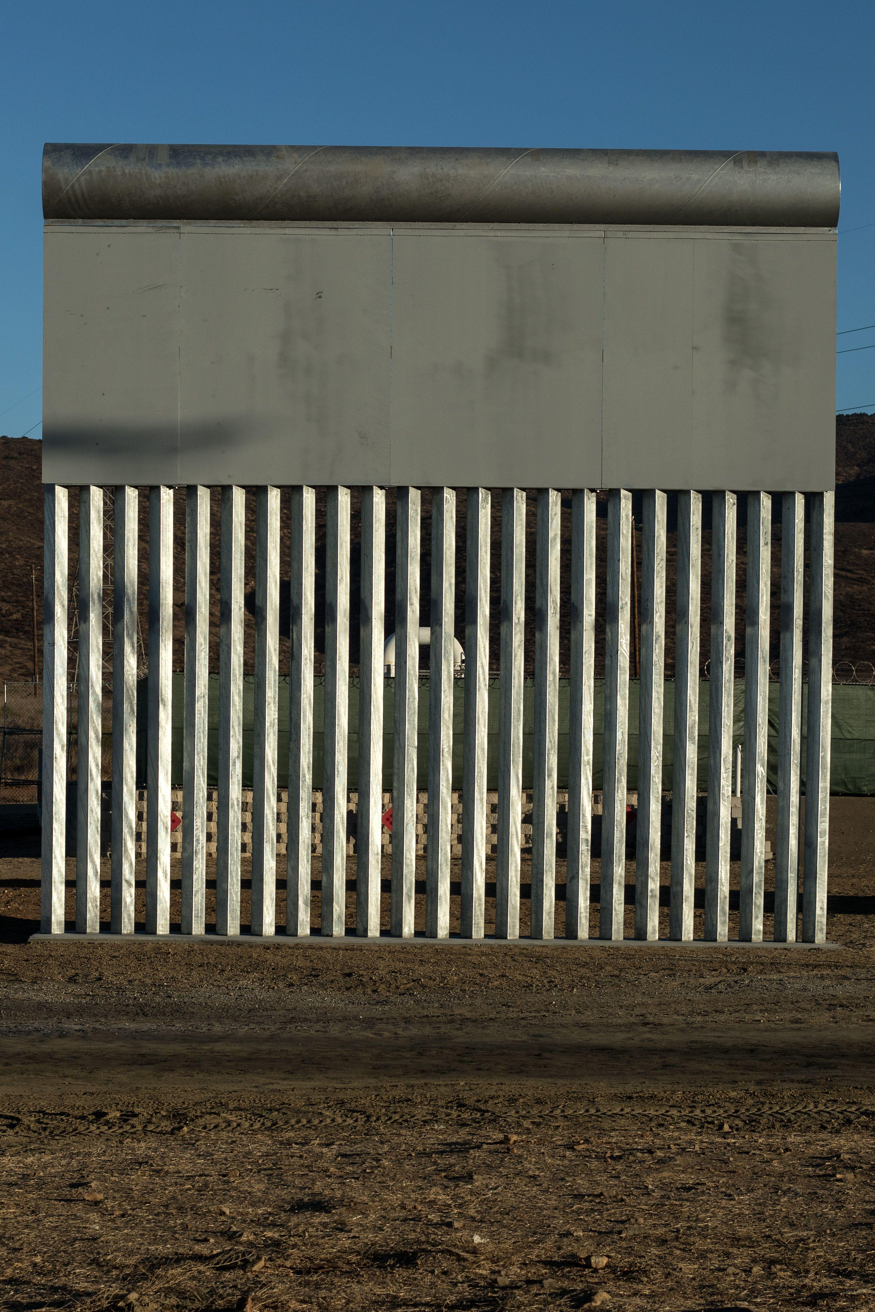 The wall was one of Donald Trump's pre-election promises (Picture: Getty)