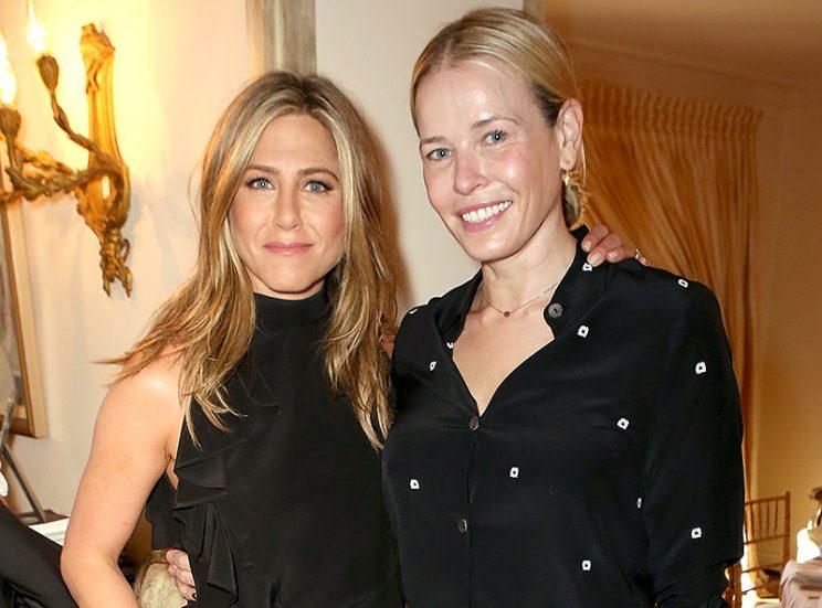 Chelsea Handler is Team Aniston all the way. (Photo: Ari Perilstein/Getty Images for LTLA)