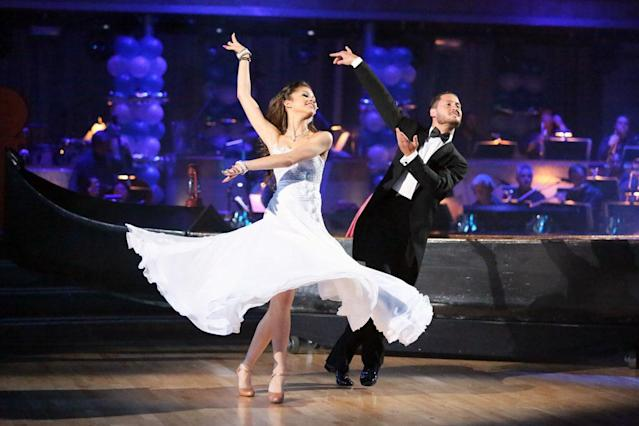 """Zendaya and Val Chmerkovskiy perform on """"Dancing With the Stars."""""""