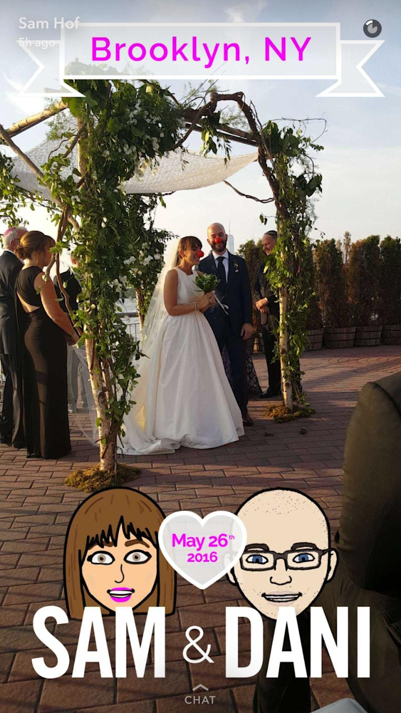 Image of: Drawings View Photos Gary Vaynerchuk Yes You Can Get Custom Snapchat Filter For Your Wedding