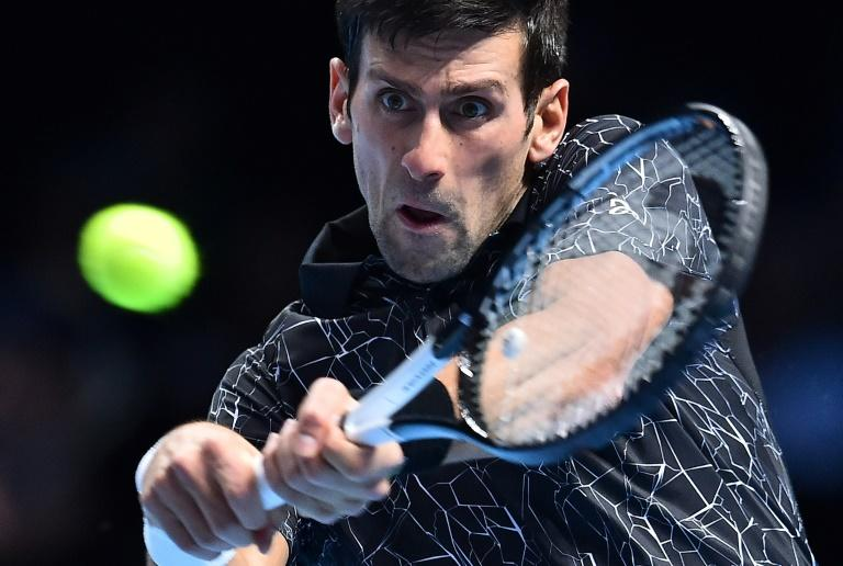 Novak Djokovic is bidding for a sixth ATP Finals title