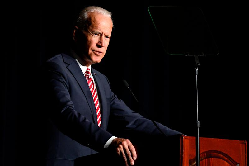 Biden's campaign said the candidate would not take money from registered lobbyists of corporate PACs. But a fundraising event Thursday has drawn scrutiny. (Photo: NurPhoto via Getty Images)