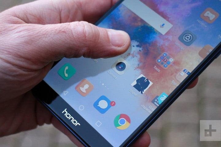 honor 7x review home screen