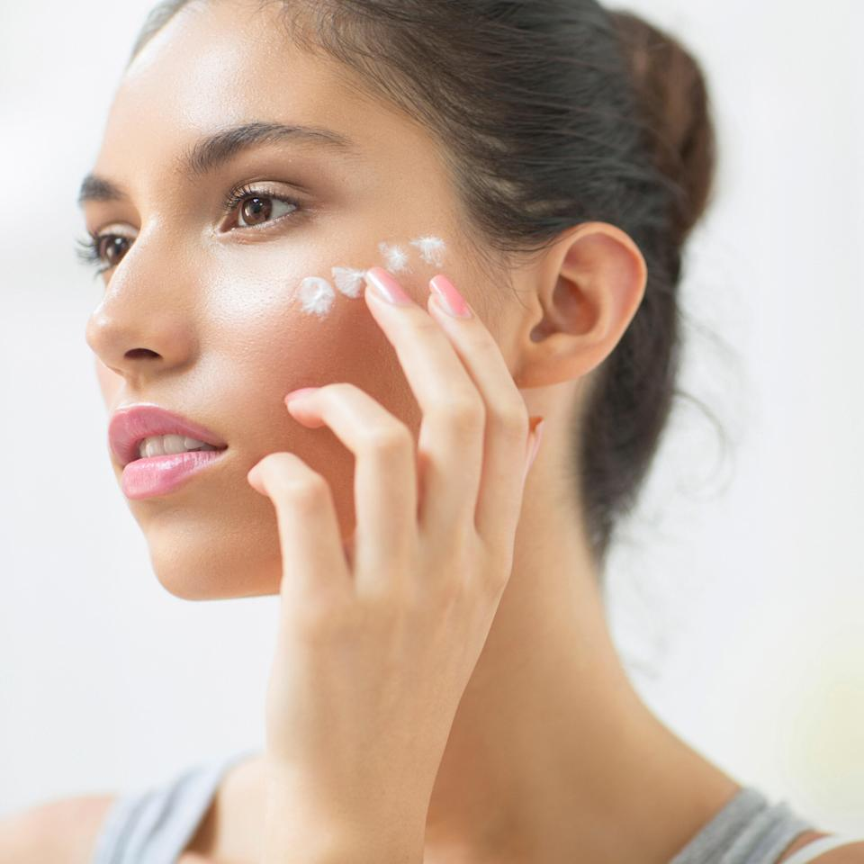 """Not only can you, you really should — that's where most of the damage shows up, says Weiss. """"Studies have shown that people who apply retinoids right up to the eyes get the best results."""" And if you get it in your eye? """"It may sting a little, but it won't do any harm,"""" says Weiss, and the skin there is no more likely to get red or flaky than anywhere else on the face."""