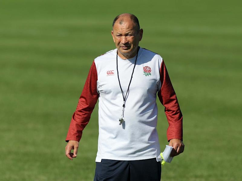 Eddie Jones's England side may see their game against France cancelled on Saturday: Getty