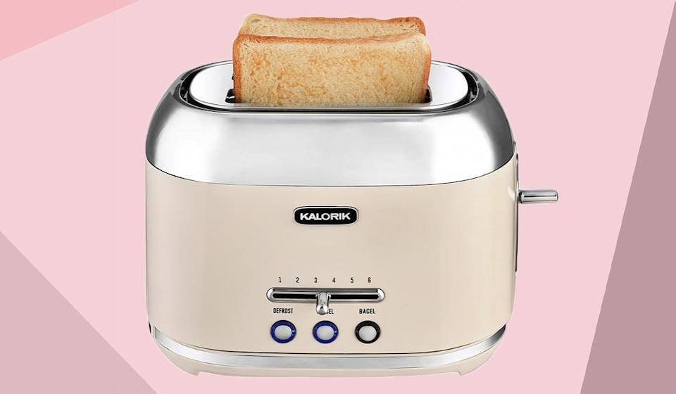 Give your space an adorable retro-inspired vibe with this toaster. (Photo: Nordstrom Rack)