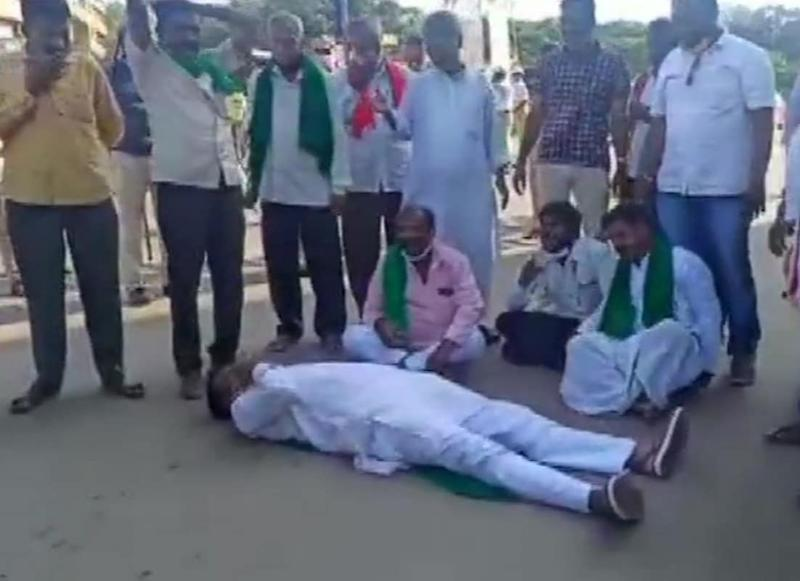 Karnataka Bandh LIVE Updates: Congress, JD(S) & SDPI Workers Detained in Kodagu District During Protest against Farm Bills