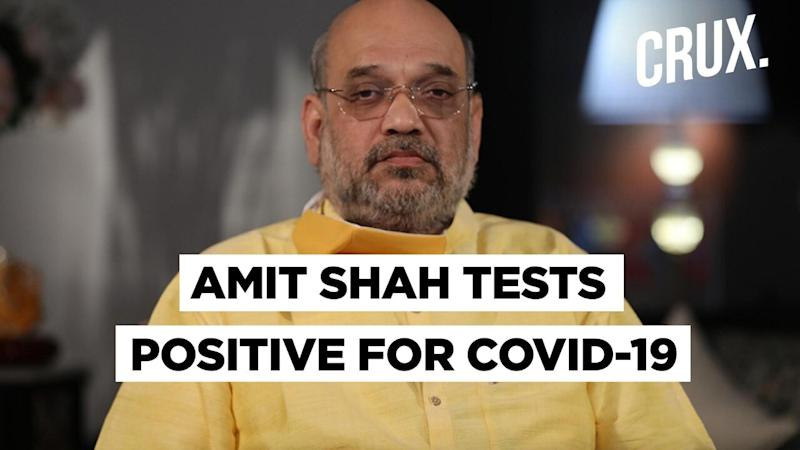 Home Minister Amit Shah Hospitalised After Testing Positive for Covid-19