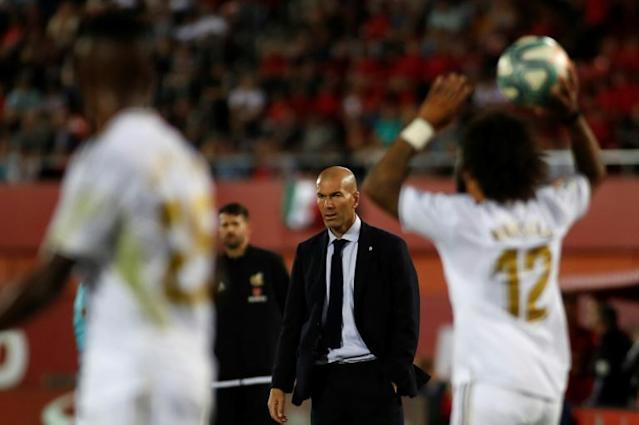 Zinedine Zidane's Real Madrid are bottom of their Champions League group after two matches (AFP Photo/JAIME REINA)