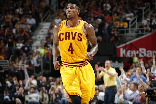 Cavs' Shumpert improves, status for Game 3 unknown